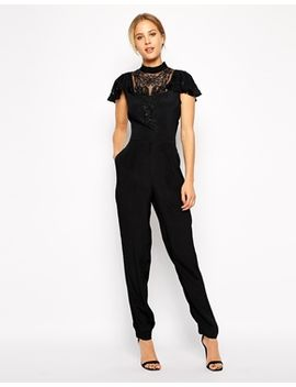 asos-jumpsuit-with-embellishment by asos-collection