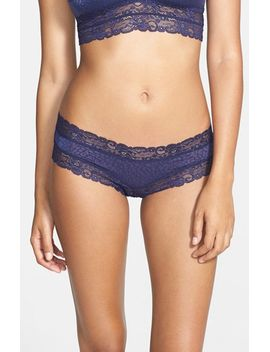 marti-lace-trim-microfiber-hipster-briefs by honeydew-intimates