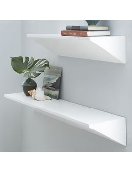 wedge-shelf---white by west-elm