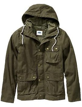 mens-hooded-canvas-anoraks by old-navy