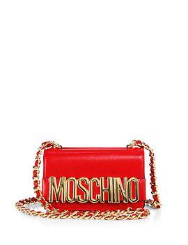 moschino-chain-crossbody-bag by moschino