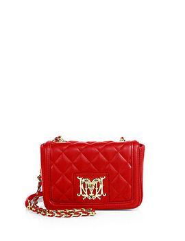 quilted-flap-crossbody-bag by love-moschino