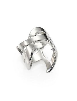 monogram-signature-ring_silvertone by saint-laurent