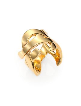 monogramme-signature-ring_goldtone by saint-laurent