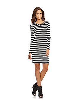gianni-bini-dori-striped-dress by generic