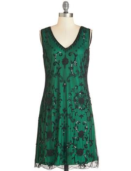 bead-it-dress-in-emerald by modcloth