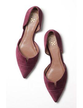 halia-dorsay-pointy-toe-flat by vince-camuto