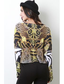 jacquard-animal-top by urbanog