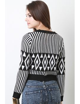 tribal-knit-sweater-top by urbanog