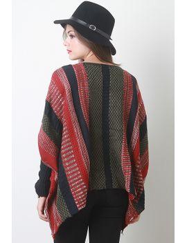 striped-boxy-knit-sweater by urbanog