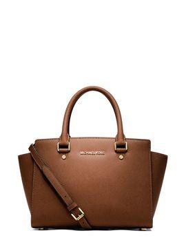 selma-medium-leather-satchel by michael-michael-kors