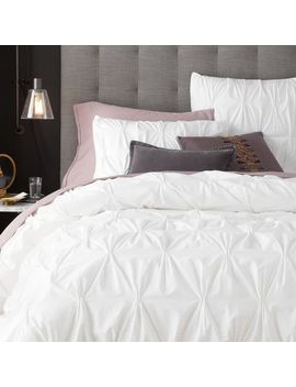 organic-cotton-pintuck-duvet-cover-+-shams---white by west-elm