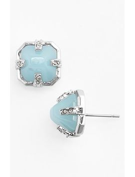 blue-steel-silver-stud-earrings by vince-camuto