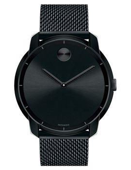 bold-mesh-strap-watch,-44mm by movado