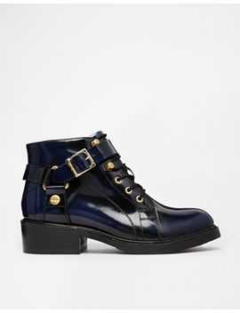 asos-am-i-dreaming-leather-ankle-boots by asos-collection
