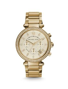 parker-gold-tone-watch by michael-kors