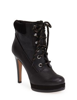 alpachee-leather-platform-bootie by nine-west