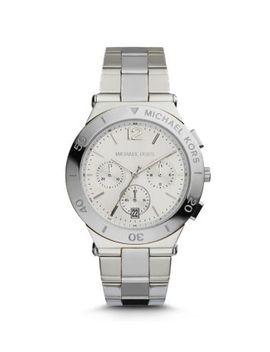 wyatt-silver-tone-watch by michael-kors