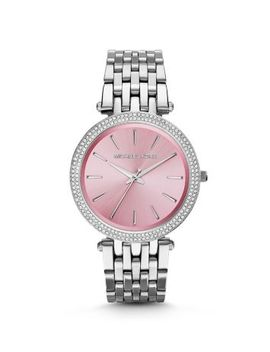 darci-pavé-silver-tone-watch by michael-kors