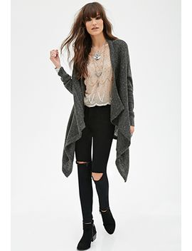 longline-fuzzy-cardigan by forever-21