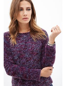 multicolored-fuzzy-sweater by forever-21