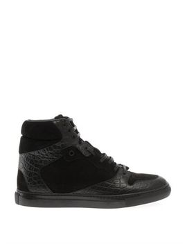 leather-and-suede-high-top-trainers-(201173) by balenciaga