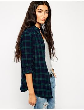 asos-black-watch-check-shirt by asos-collection