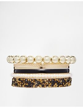 new-look-sparkle-tap-bangle-multipack by new-look