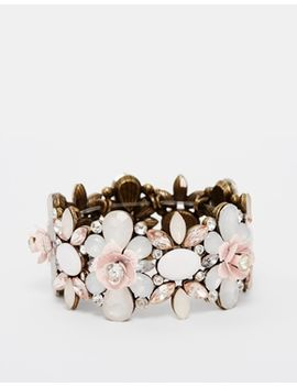 new-look-carved-rose-anna-stretch-bracelet by new-look