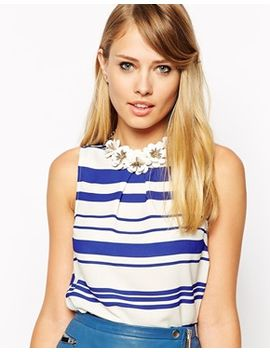 oasis-facet-petal-collar-necklace by oasis
