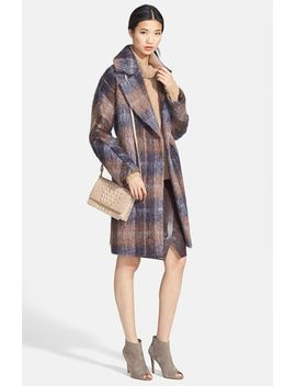 scarlett-plaid-coat by trina-turk