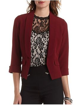 open-front-asymmetrical-blazer by charlotte-russe
