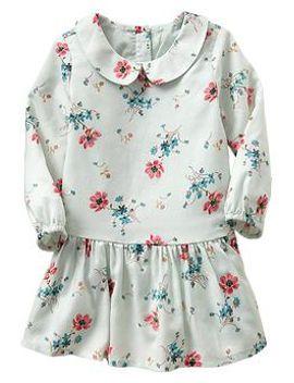 floral-peter-pan-dress by gap