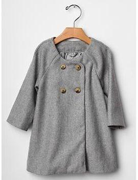 shimmery-tweed-coat by gap