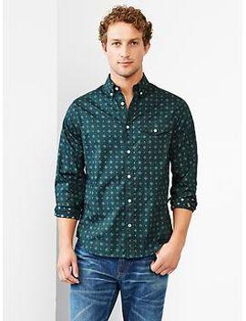 foulard-print-shirt by gap