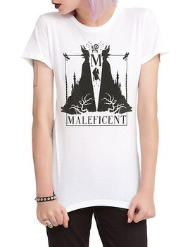 disney-sleeping-beauty-maleficent-silhouette-girls-t-shirt by hot-topic