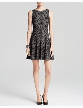 dress---damask-textured-ponte by aqua