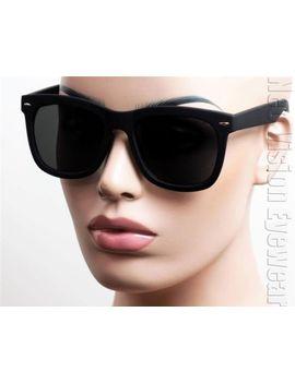 oversized-large-wayfarer-sunglasses-retro-dark-smoke-lenses-black-matte-k-533 by ebay-seller