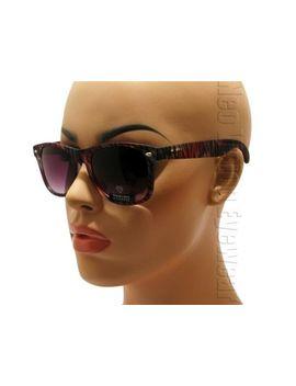 matte-frosted-multi-color-wayfarer-sunglasses-smoke-lens-zebra-plda by ebay-seller