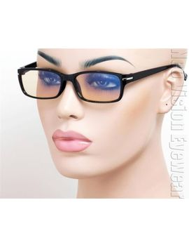 computer-lens-glasses-sunglasses-block-reduces-50-percents-blue-light-black-shiny-3ab by ebay-seller