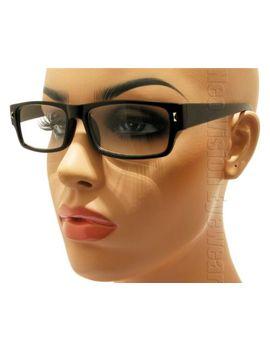 retro-wayfarer-clear-lenses-reading-glasses-various-lens-colors-r251 by ebay-seller
