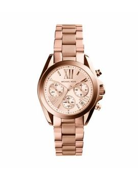mini-bradshaw-rose-gold-tone-stainless-steel-watch by michael-kors