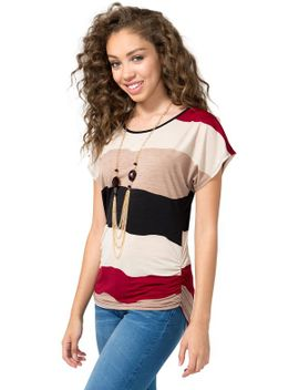 ruched-necklace-top by agaci