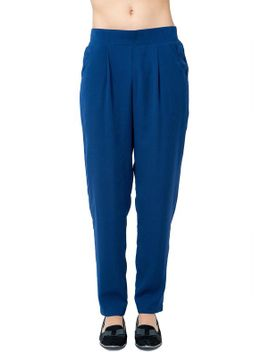 posh-solid-slouch-pant by agaci