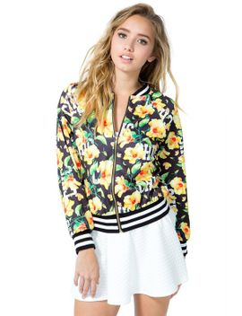 chick-tropical-track-jacket by agaci