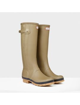 original-slim-textured-wellington-boots by hunter
