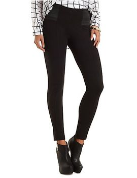 high-waisted-skinny-pants by charlotte-russe