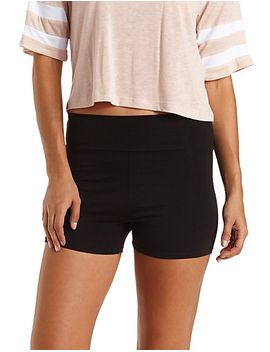 high-waisted-bike-shorts by charlotte-russe