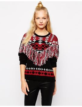 monki-fringe-jumper by monki