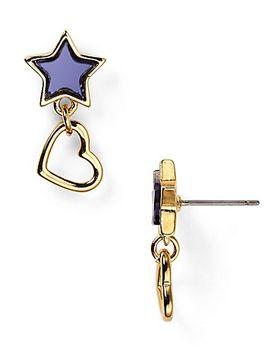 star-&-heart-drop-earrings by marc-by-marc-jacobs